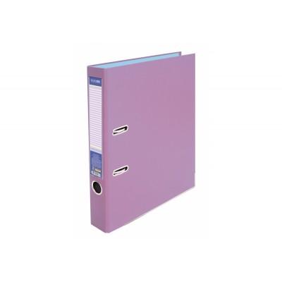 Папка-регистратор А4 Economix, 50 мм, лавандовая, E39720*-88