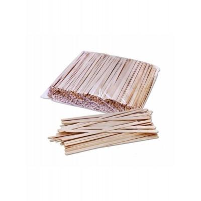 PRO Мешалка деревянная (береза) 140*6*1,5мм, 800шт/уп (24уп/ящ) 19303210