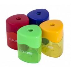 Точилка пластиковая с прозрачным контейнером 1 лезвие, Style