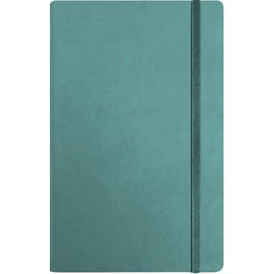 Деловая записная книжка А5 с резинкой , Vivella, цвет обложки – бирюзовый