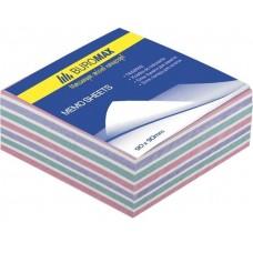 """Блок бумаги для заметок """"Зебра"""" 90х90х40 мм, скл."""