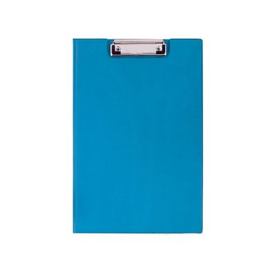 Папка-планшет А4 Economix с зажимом, ПВХ, синяя