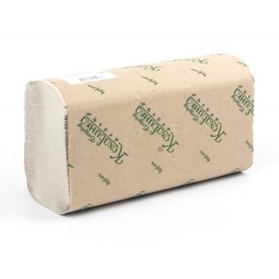 """Полотенца бумажные в листах Z """"Кохавинка"""", 200 шт., серые"""