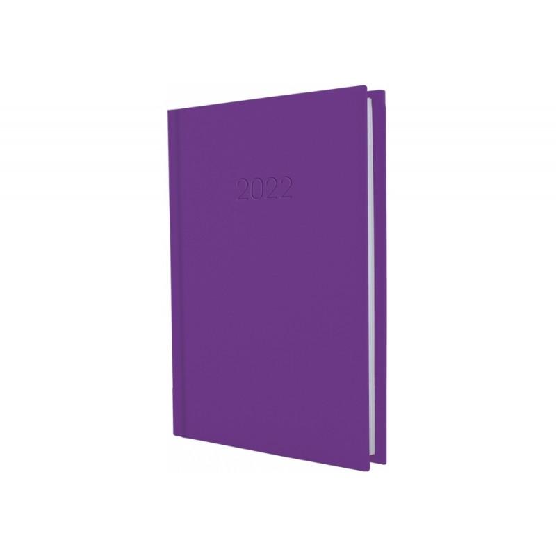Ежедневник датированный 2022г., SATIN, сиреневый, А6, E21881