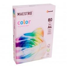 Бумага А4 Maestro Color OPI74 Flamingo (нежно-розовый)