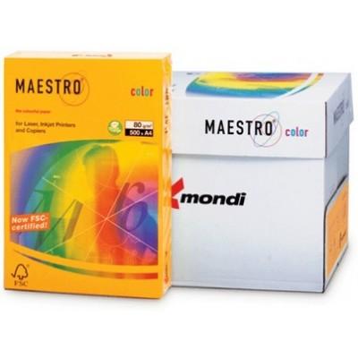 Бумага А4 Maestro Color Old Gold AG10 (золотой)
