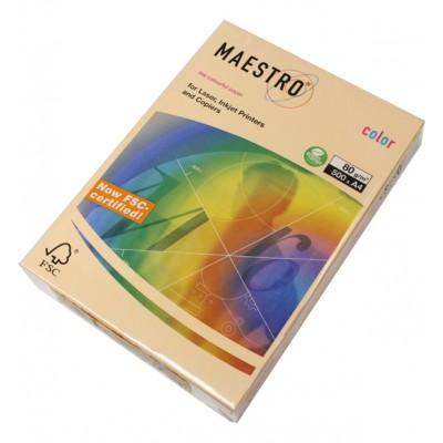 Бумага А4 Maestro Color SA24 (персиковый)