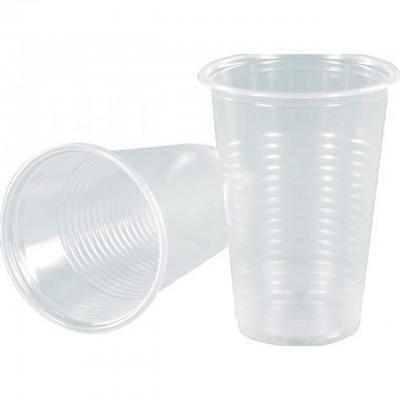 Стаканчик прозрачный одноразовый пластиковый 200 мл 100шт