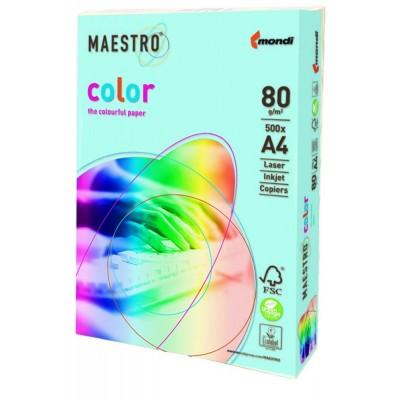 Бумага А4 Maestro Color OBL70 (голубой)