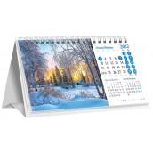 Календарь «домик» перекидной, природа 2022h-01