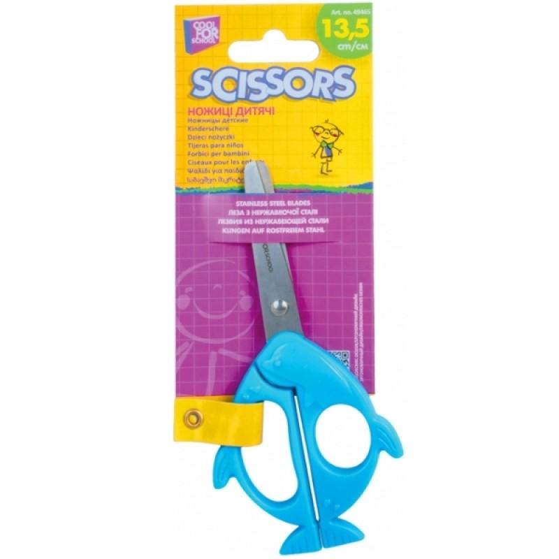 Ножницы детские 13,5 см, Dolphin CF49465