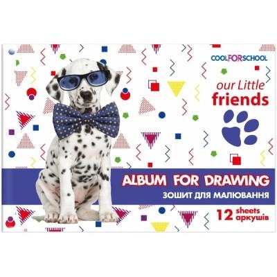 Альбом для рисования на скобе, 12 листов CF60905-01