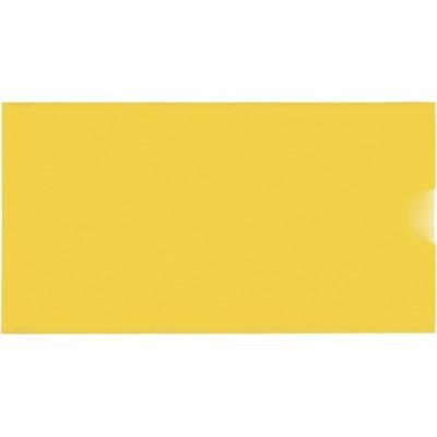 Евроконверт Е65, загрузка по короткой стороне, 180 мкм, фактура «глянец», желтый N31308-05