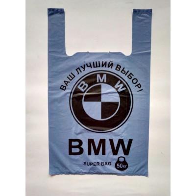 Пакет BMW 38х6x58 упаковка 100 штук