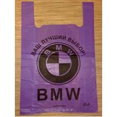 Пакет BMW 38х6x58 упаковка 50 штук