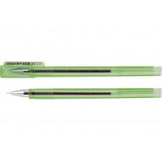 Ручка гелевая зеленая  Economix PIRAMID 0.5mm