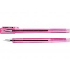 Ручка гелевая красная  Economix PIRAMID 0.5mm