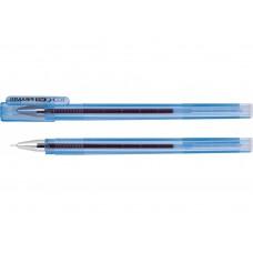 Ручка гелевая синяя  Economix PIRAMID 0.5mm