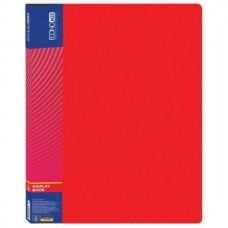 Папка А4 з 30 файлами, Economix, червона E30603-03