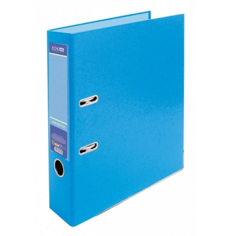Папка-регистратор А4 Economix, 70 мм, пастельная голубая E39721 * -82