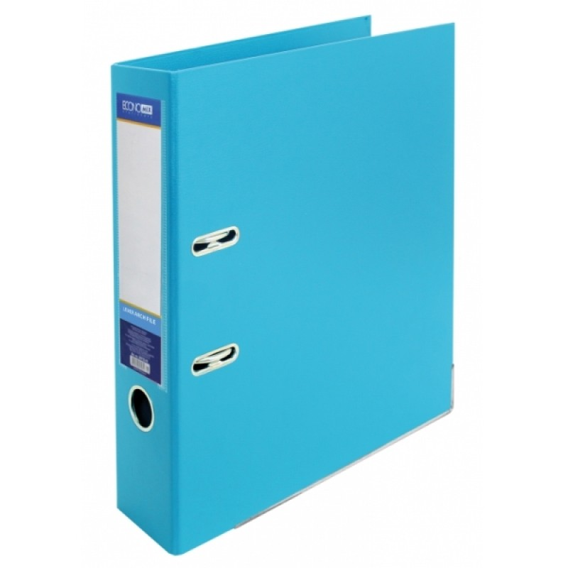 Папка-регистратор А4 LUX Economix, 70 мм, голубая E39723*-11