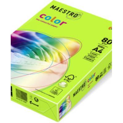 Бумага А4 Maestro Color Neon Neogn (зеленый)
