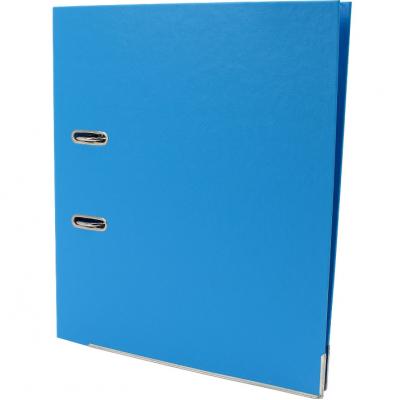 Папка-регистратор А4 Есопотіх Люкс, 50 мм голубая