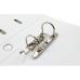 Папка-регистратор А4 Есопотіх Люкс, 50 мм белая - Фото 3