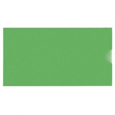 """Евроконверт Е65, загрузка по короткой стороне, 180 мкм, фактура """"глянец"""", зеленый"""