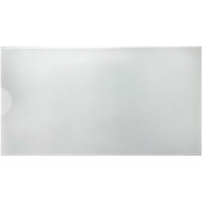 """Евроконверт Е65, загрузка по короткой стороне, 180 мкм, фактура """"глянец"""", прозрачный"""