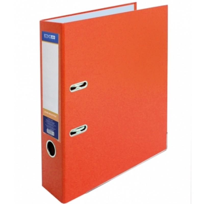 Оптовый Набор: Папка регистратор А4, 70 мм Economix, оранжевая. 1 короб, 10 папок E39721*-10-06