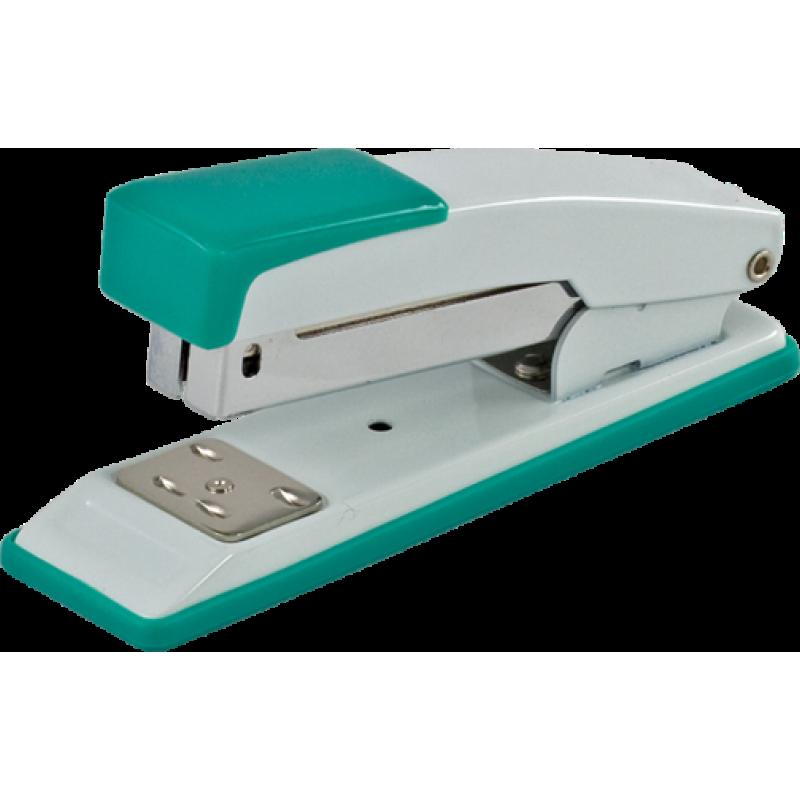 Степлер металлический к 20арк. (Скобы №24, 26), JOBMAX, зеленый