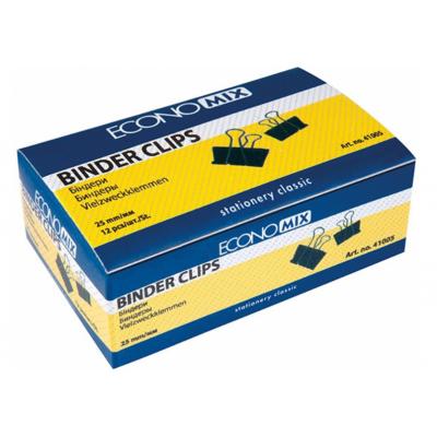 Биндеры для бумаги 25 мм Economix, 12 шт