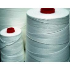 100% полиэстерная мешкозашивочная нить 12s/4 белая м.к.