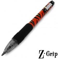 Ручка шариковая Zebra BL Z-Grip Funky Тигр 1.0mm