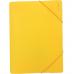 """Папка пластиковая А4 на резинках Format, фактура """"помаранч"""", желтая - Фото 2"""