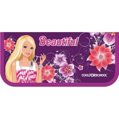 Пенал пластиковый на молнии «Beautiful», A6, 6010 CF32004-04