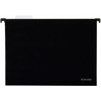 Файл подвесной А4 Economix, пластиковый, черный E30201-01
