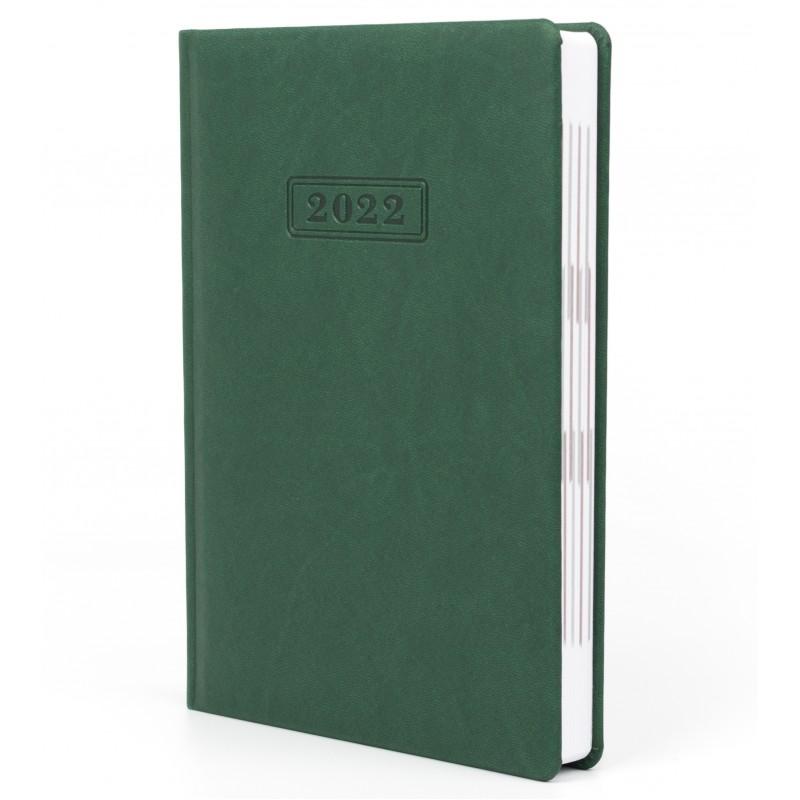 Ежедневник датированный 2022г., VIVELLA, зеленый, А5, O25230-04