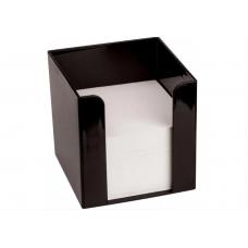 Підставка під папір для нотаток Economix90х90х90, чорна