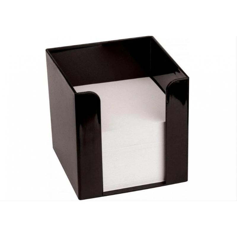 Подставка под бумагу для заметок Economix90х90х90, черная