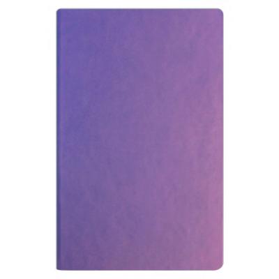 Деловой блокнот А5 Vivella, твердый переплет белый блок, фиолетовый