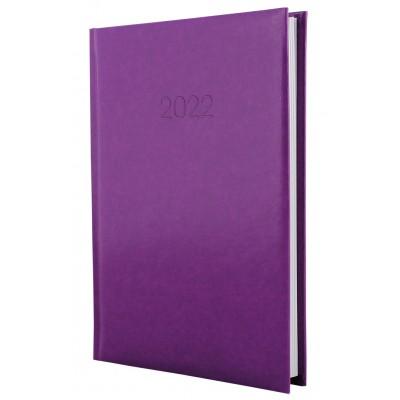 Ежедневник датированный, FLASH, сиреневый, А5, E21606-12