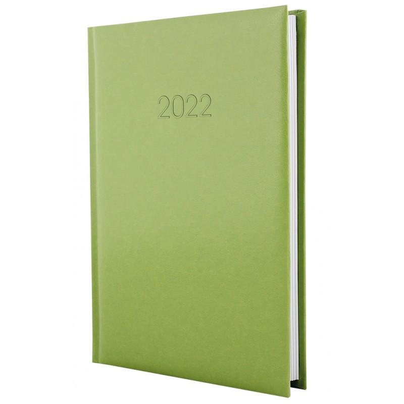 Ежедневник датированный 2022г., FLASH, фисташковый, А5, E21606-67