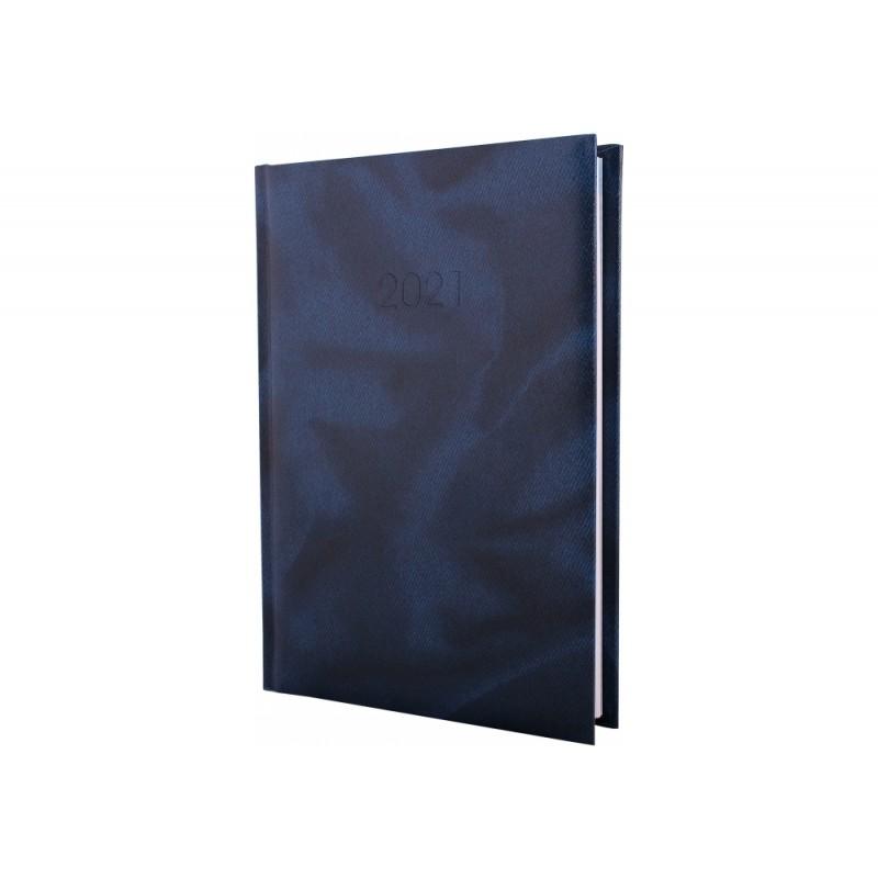 Ежедневник датированный 2022г., OFFICE, синий, А5, E21607-02