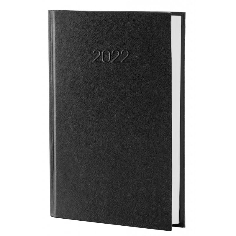 Ежедневник датированный 2022г., БИЗНЕС, черный, А5, E21610-01