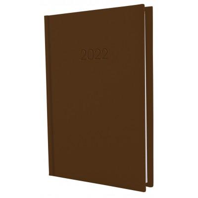 Ежедневник датированный, SATIN, коричневый, А5, E21612-07