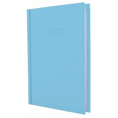 Ежедневник датированный, SATIN, голубой, А5, E21612-11