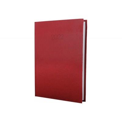 Дневник датированный, SNAKE (змея), красный, А5, E21633-03