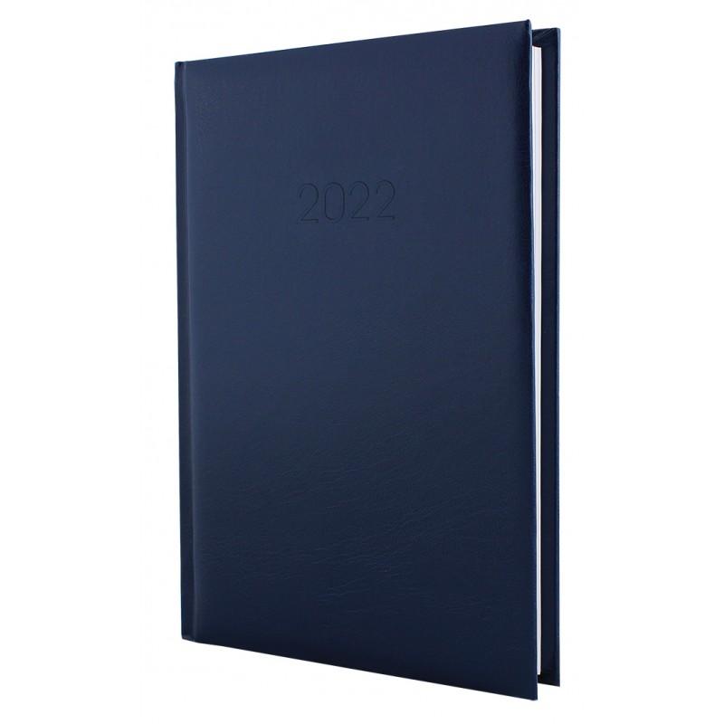 Ежедневник датированный 2022г., ALLEGRA, темно-синий, А5, E21691-24